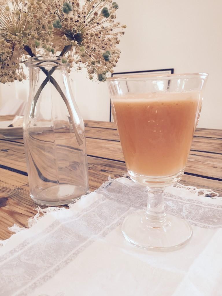 organic carrot ginger juice anjiko