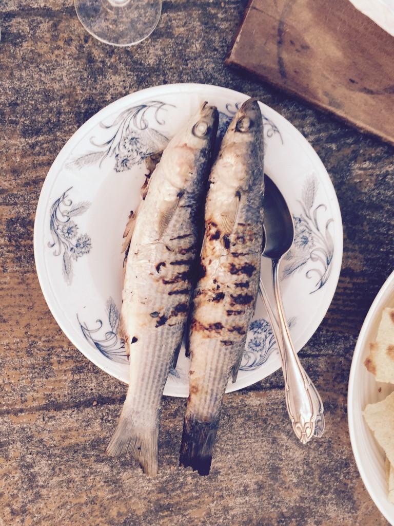 Grill Fish anjiko