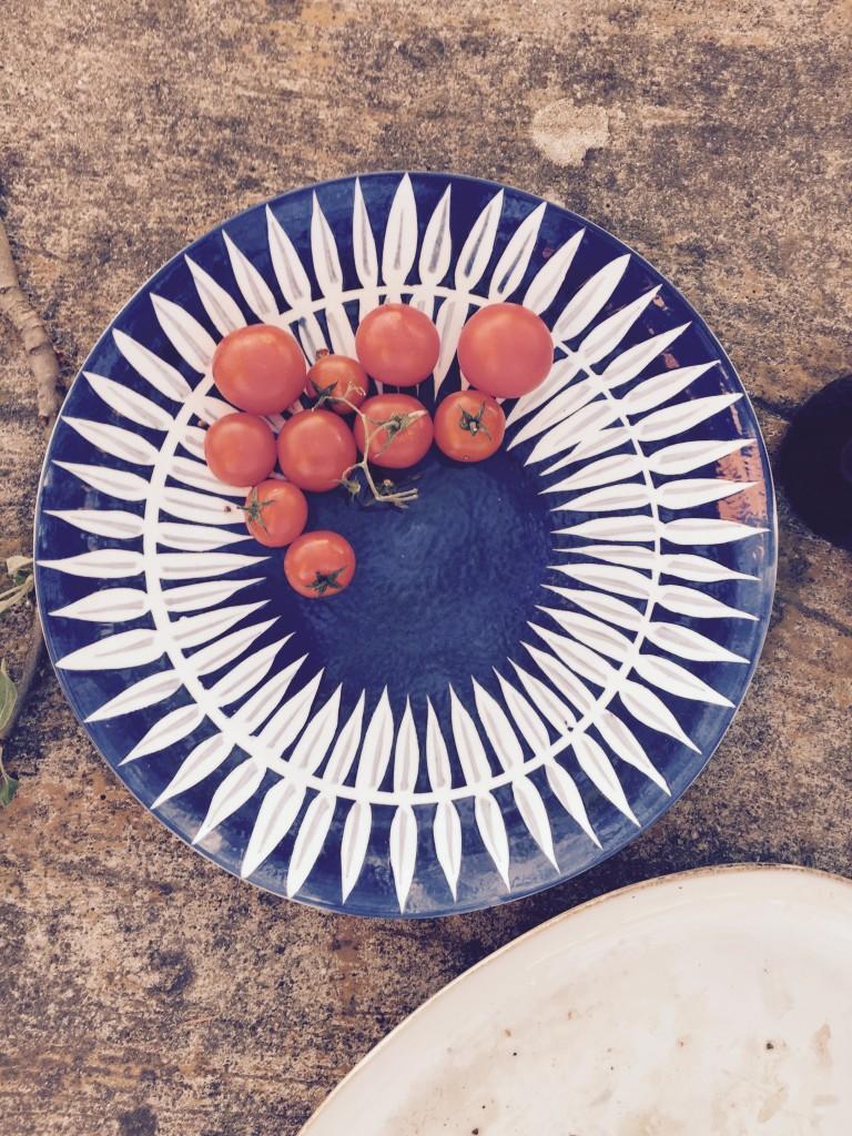 Tomaten Teller anjiko
