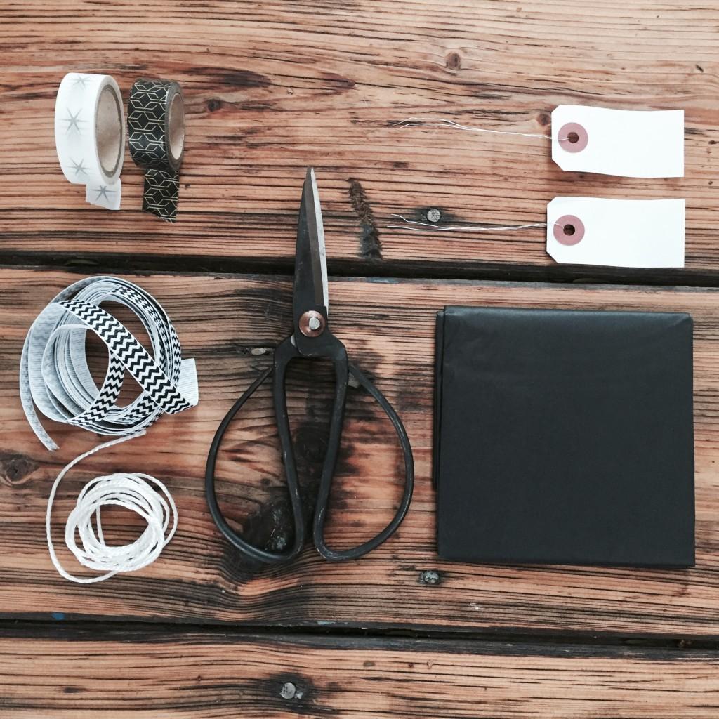 Weihnachtliches Geschenkeverpacken Black]White Anja Krause Anjiko blog blog.anjiko.com