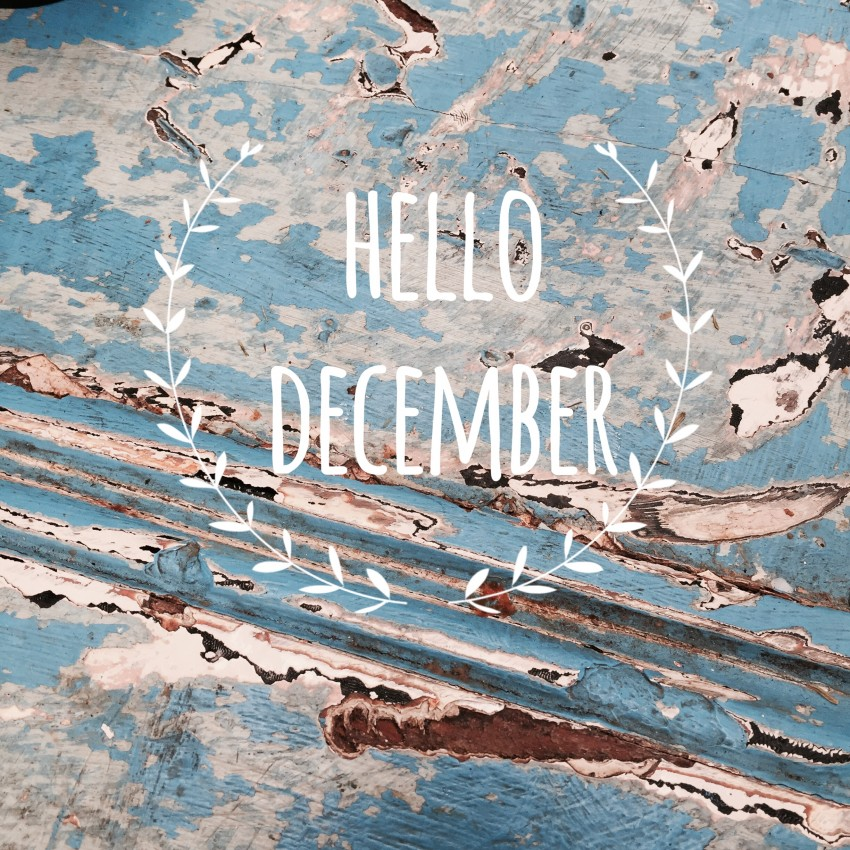 hello december anjiko blog Anja Krause blog.anjiko.com