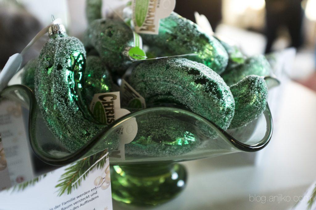 Grüne Gurke Im Weihnachtsbaum.Tipp Berlin Food Week Maria Gross Und Eine Grüne Glasgurke Plus