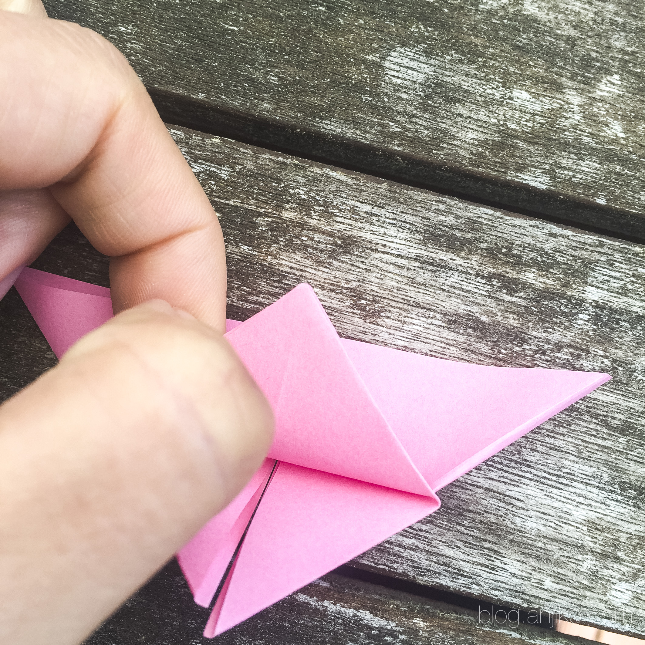 Schritt Für Schritt Anleitung Zum Falten Von Origami